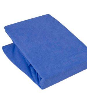 Prześcieradło Jersey – Ciemny niebieski