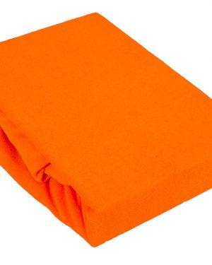Prześcieradło Jersey – Pomarańcz